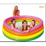 Piscina Inflable Intex 168cm 4 Aros Original 56441