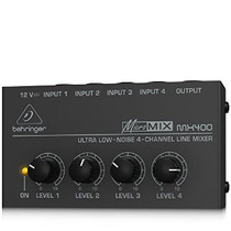 Mixer Compacto Behringer Micromix Mx400 - New Model Black