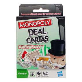 Juego De Mesa Monopoly Deal Versión Cartas Viaje Hasbro