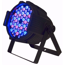 Par Luz Led Protón Rgb 54 X 3 Watts Dj Fiestas Tacho Cooler