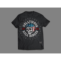 Camisa Affliction - Caveira Hell Riders