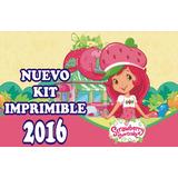 Kit Personalizable Imprimible Rosita Fresita