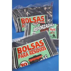 Bolsas De Residuos / Consorcio Ref Negras 50 X 70 Cm (x 100)