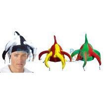 Sombreros De Paño Arlequín Cotillón Carioca Fiesta Combo X10