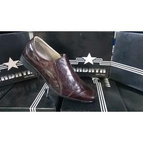 Calçado Masculino Em Couro Kabaya Ref. 750