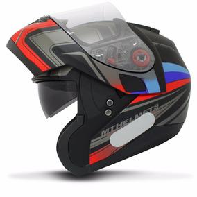 Capacete Robocop Mt Helmets Optimus Sv Tricolore Matt B