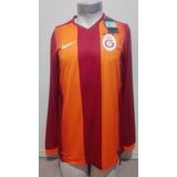 Camiseta Galatasaray 2014-2015 Titular Manga Larga Nike Nuev