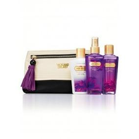 Victoria´s Secret - Bello Clutch 3 Productos Crema Splash