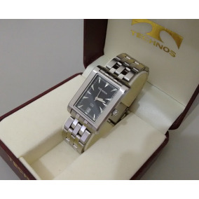 Relógio Technos Steel 5atm Original Raro Colecionador