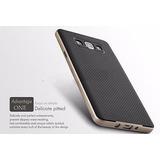 Case Funda Cover Galaxy A5 Negro Dorado