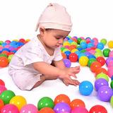20x Pelotas Plastico 4cm Alberca Infantil Piscina Bebe Niños