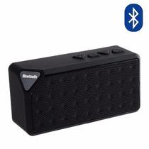 Bocinas Bluetooth X3 Inalámbri Recargable Negra Envío Gratis