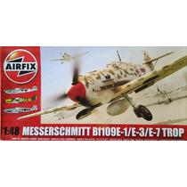 Miniatura Avião Bf-109 E-1 Trop Airfix 1/48 Tipo Kit Revell