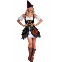 Disfraz Medieval Historico Robin Hood Para Damas