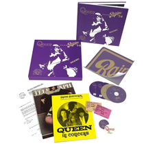 Cd Blu-ray Dvd Box Queen Live At The Rainbow (deluxe) Novo