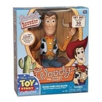 Toy Story Woody Think Way 45 Frases Roundup Replica Original