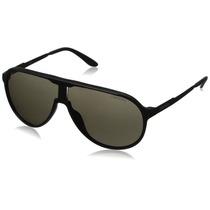 Gafas De Sol Carrera Newchs Aviator - Lente Negro Marco Caf