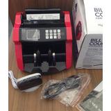 Contadora De Dinero Detecta Falsos Bs, $, Eur Bill Counter