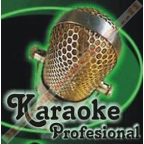 Karaoke Profesional Con 21mil Canciones Pc Y Laptops *tm*