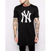 Camiseta Camisa Ny Faraó Lk Last King Longline Swag Tyga