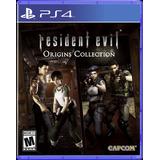 Resident Evil Origins Collection Ps4 Original Sellado Físico