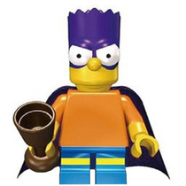 Fig Sax 29 Bart De Los Simpsons Bartman Compatible Con Lego