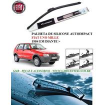 Palheta Automotiva De Silicone Específica Fiat Uno Todos