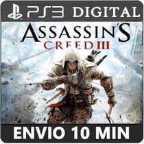 Assassins Creed 3 Ps3 Psn Cod Legendas Português