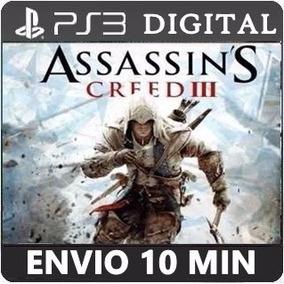 Assassins Creed 3 Ps3 Psn Cod Legendas Português