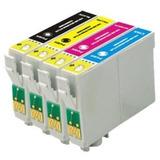 03 Kit Cartucho Compatível Tx235w Tx320 Tx420 + 03 Preto