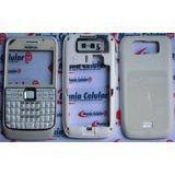 Carcaça Nokia E63 Branca + Chassi + Teclado