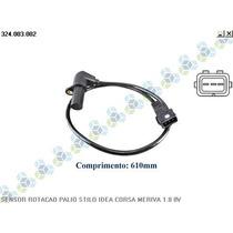 Sensor De Rotação Siena 1.8 8v Gasolina 03/09 - Vdo
