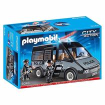 Playmobil 6043 Camioneta De Policía Mejor Precio!!