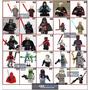 Minifigura Boneco Star Wars Ataque Clones Similar Ao Lego