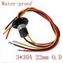 Conector Rotativo Para Gerador Eólico 30a