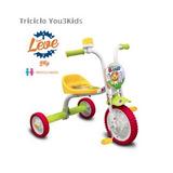 Triciclo Infantil Nathor P Crianças A Partir De 18 Meses