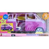 Juguete Barbie Volkswagen Microbús Vehículo Suv Van (púrpur