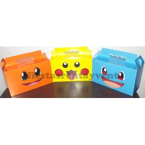 Caja Para Dulces Pikachu Pokemon