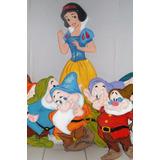 Figuras En Anime, Princesa Blanca Nieves, Enanos Disney