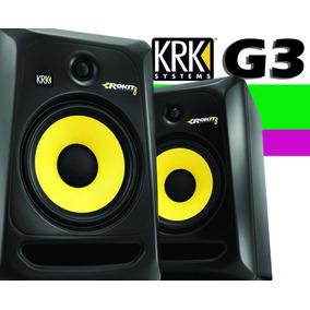 Monitor - Krk Rokit Powered 8 G3 110v Ativo Rp8 Rp 8 Par