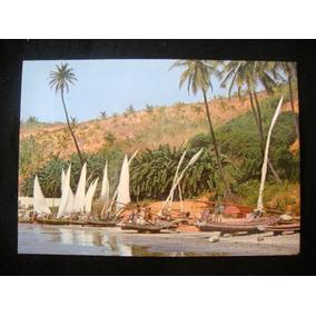 Cartão Postal Fortaleza - Ce Brasil Jangadas Na Praia Antigo
