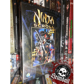 Dvd Ninja Scroll Edi Europea Español Anime Samurai