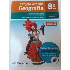 Livro Geografiao Projeto Araribá 8°ano = Sebocorrespondente