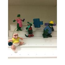 Miniatura De Família De Dinossauro Raro E Importado
