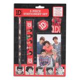 Subasta One Direction 5 Lapizeros Escolares Oficiales 1d