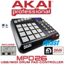 Akai Mpd26 Controlador Usb/dj Fretegratis/12xs/juros Djfast