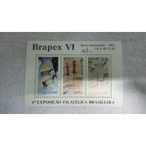 Brasil Bloco B-69 Brapex Vi Pinturas Rupestres 1985
