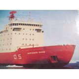 Lamina Barco Rompehielos Almirante Irizar 25x17cm