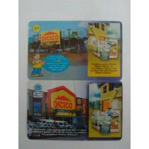 A01064 - Série Dicico Home Center - Telefônica - 2 Cartões