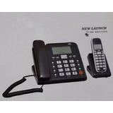 Aparelho Telefone De Mesa C/ Fio E 1 Ramal S/ Fio A-10